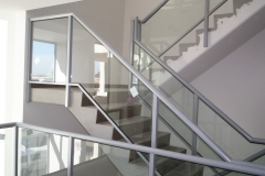 Nu-Lite Balustrading Type Fully Framed  Stair- Glass balustrade-04