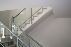 Nu-Lite Balustrading Type Fully Framed  Stair- Glass balustrade-05