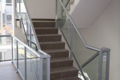 Nu-Lite Balustrading Type Fully Framed  Stair- Glass balustrade-06