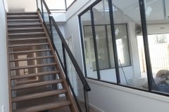 Nu-Lite Balustrading Type Fully Framed  Stair- Glass balustrade-08