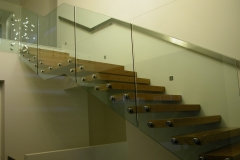 Nu-Lite Balustrading Type Frameless  Stair- glass balustrade-12