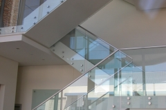 Nu-Lite Balustrading Type Frameless  Stair- glass balustrade-17