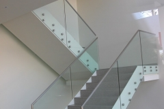 Nu-Lite Balustrading Type Frameless  Stair- glass balustrade-19