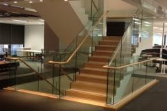 Nu-Lite Balustrading Type Frameless  Stair- glass balustrade-21