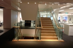 Nu-Lite Balustrading Type Frameless  Stair- glass balustrade-22