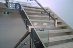 Nu-Lite Balustrading Type Frameless  Stair- glass balustrade-24