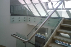 Nu-Lite Balustrading Type Frameless  Stair- glass balustrade-25