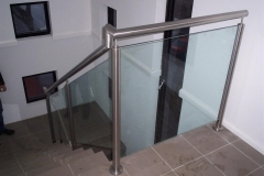 Nu-Lite Balustrading Type Stainless Steel  Stair- Glass balustrade-03