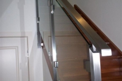 Nu-Lite Balustrading Type Stainless Steel  Stair- Glass balustrade-04