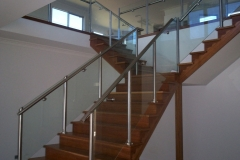 Nu-Lite Balustrading Type Stainless Steel  Stair- Glass balustrade-06
