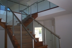 Nu-Lite Balustrading Type Stainless Steel  Stair- Glass balustrade-07