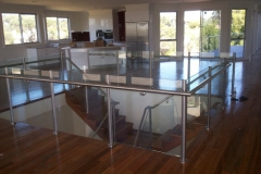 Nu-Lite Balustrading Type Stainless Steel  Stair- Glass balustrade-09