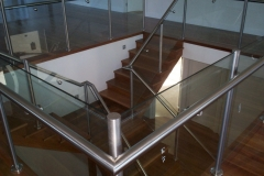 Nu-Lite Balustrading Type Stainless Steel  Stair- Glass balustrade-10