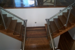 Nu-Lite Balustrading Type Stainless Steel  Stair- Glass balustrade-11