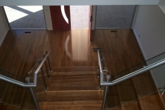 Nu-Lite Balustrading Type Stainless Steel  Stair- Glass balustrade-12