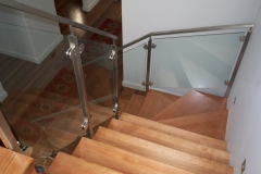 Nu-Lite Balustrading Type Stainless Steel  Stair- Glass balustrade-15
