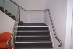Nu-Lite Balustrading Type Stainless Steel  Stair- Glass balustrade-16