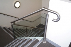 Nu-Lite Balustrading Type Stainless Steel  Stair- Glass balustrade-18