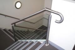 Nu-Lite Balustrading Type Stainless Steel  Stair- Glass balustrade-18
