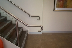 Nu-Lite Balustrading Type Stainless Steel  Stair- Glass balustrade-19