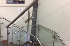 Nu-Lite Balustrading Type Stainless Steel  Stair- Glass balustrade-20