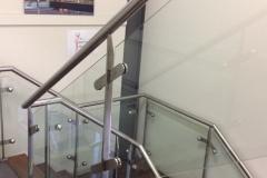 Nu-Lite Balustrading Type Stainless Steel  Stair- Glass balustrade-20
