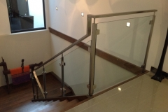 Nu-Lite Balustrading Type Stainless Steel  Stair- Glass balustrade-21