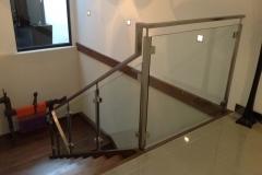 Nu-Lite Balustrading Type Stainless Steel  Stair- Glass balustrade-21