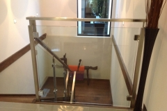 Nu-Lite Balustrading Type Stainless Steel  Stair- Glass balustrade-22
