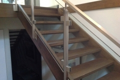 Nu-Lite Balustrading Type Stainless Steel  Stair- Glass balustrade-23