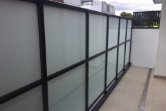 Nu-Lite Balustrading Type 1001- glass privacy screen-02
