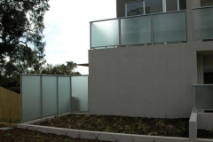 Nu-Lite Balustrading Type 1001- glass privacy screen-03