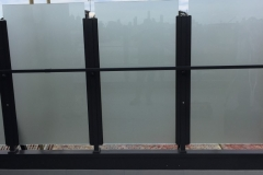 Nu-Lite Balustrading Type 1013-B - glass Privacy Screen-02