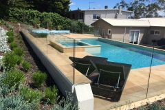 Nu-Lite Balustrading Type 3020 - glass Swimming Pool Fencing-01