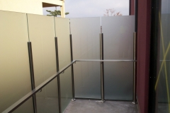 Nu-Lite Balustrading Type 6015-B - glass Privacy Screen-02