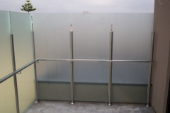 Nu-Lite Balustrading Type 6015-B - glass Privacy Screen-03