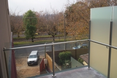 Nu-Lite Balustrading Type 6015-B - glass Privacy Screen-04