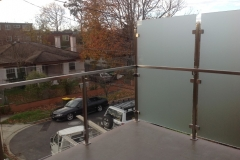 Nu-Lite Balustrading Type 6035-B - glass Privacy Screen-01