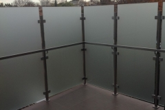 Nu-Lite Balustrading Type 6035-B - glass Privacy Screen-03