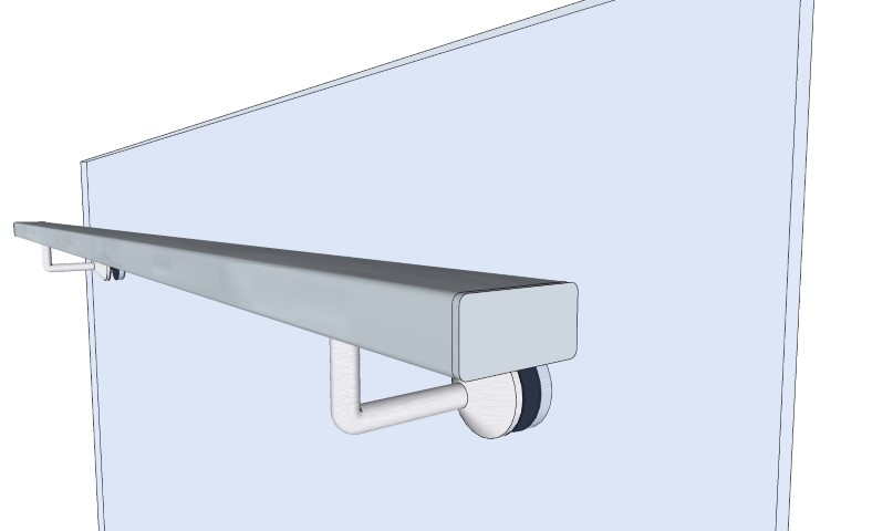 Rectangular Frameless Bracket