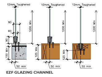 Fixtures Amp Fittings Glass Fixing Details Functional