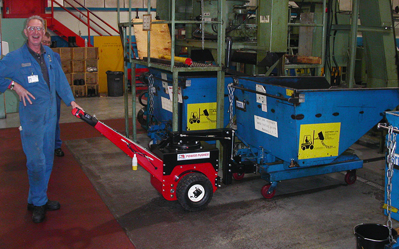 Power Pusher Electric Tug Mover  NuStar MHL