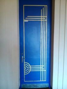 """Série """"Blue door"""""""