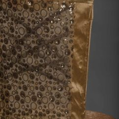 Gold Sequin Chair Covers Stackable Toddler Chairs Bubble Chameleon Cover Nüage Designs