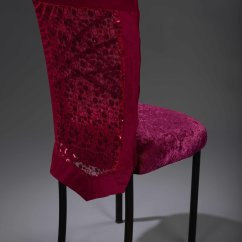 Chair Covers Pink Costco Leather Dining Chairs Hot Sequin Bubble Chameleon Cover Nüage Designs