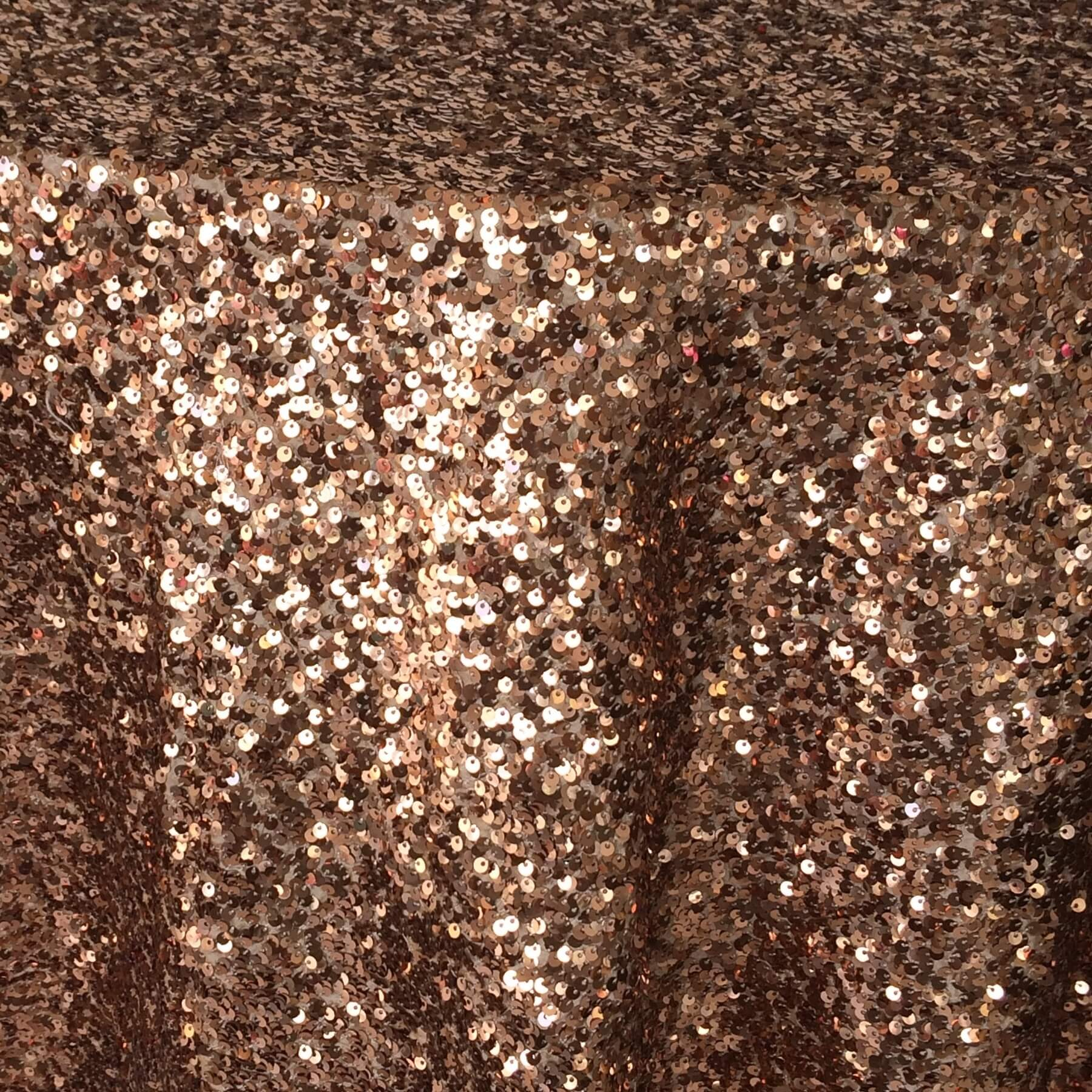 Copper Sequin Taffeta  Nage Designs