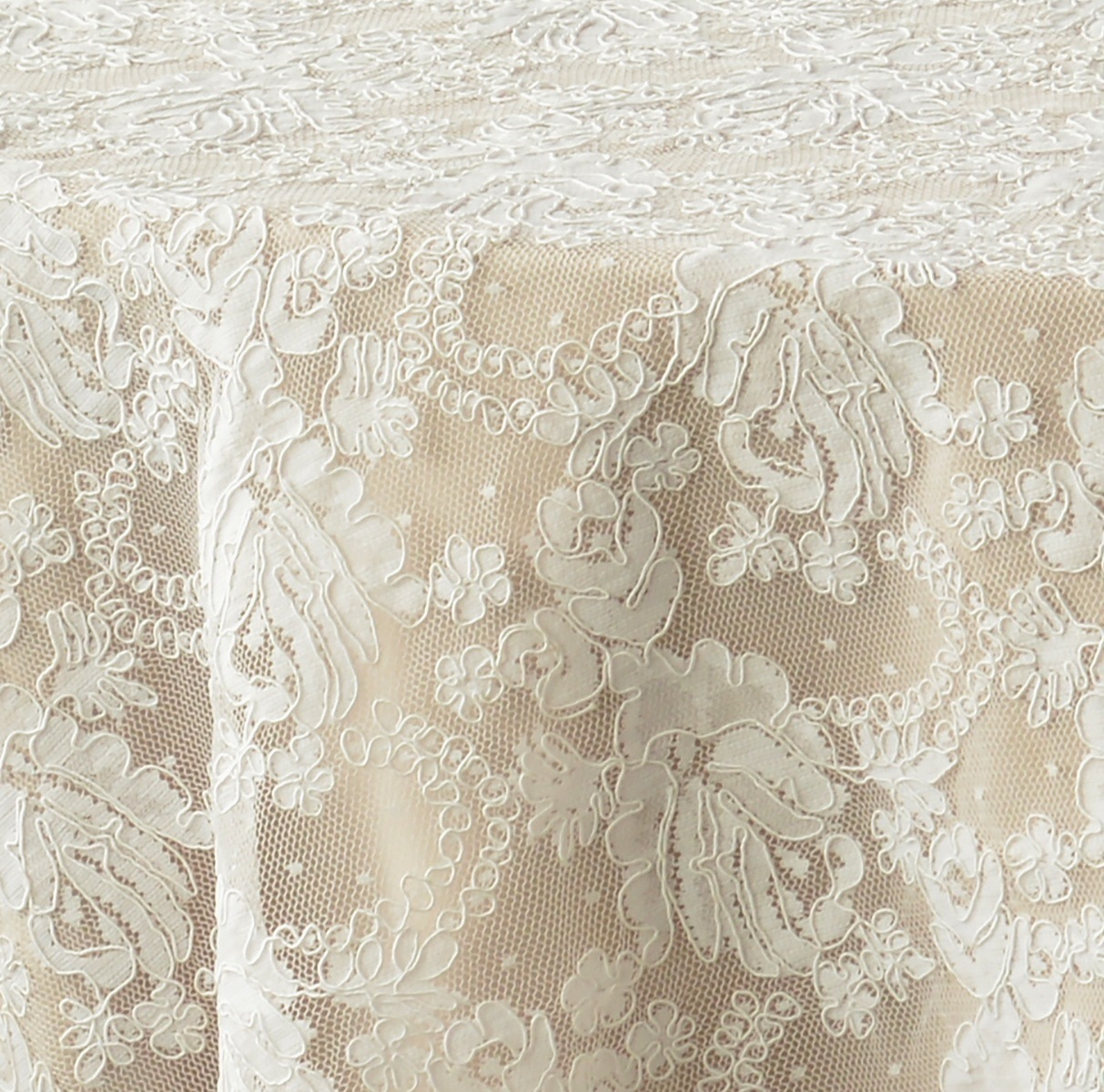 White Vintage Lace  Nage Designs