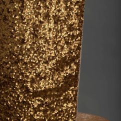 Gold Sequin Chair Covers Home Goods Dining Chairs Dark Taffeta Chameleon Cover Nüage