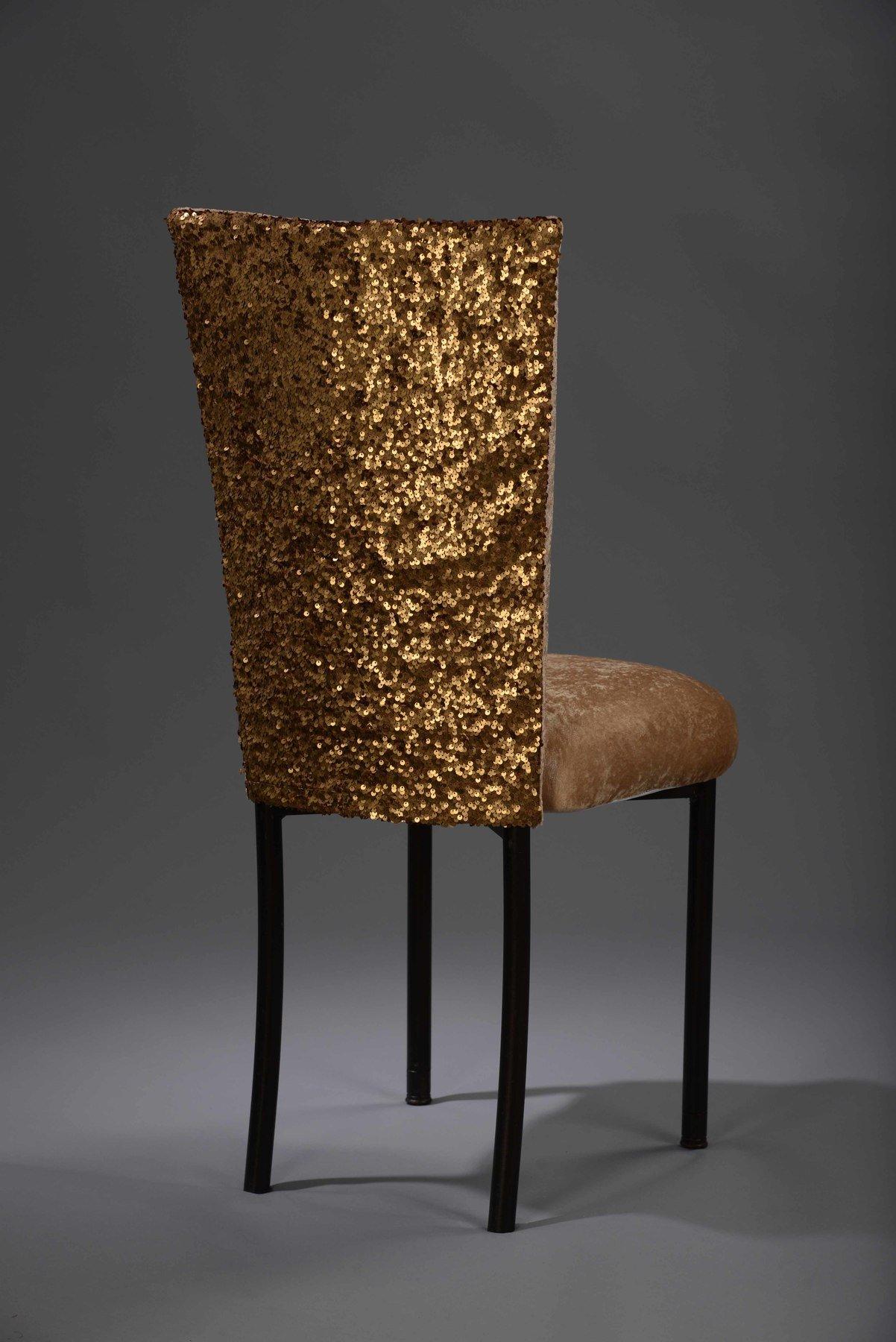 gold sequin chair covers wedding cheap dark taffeta chameleon cover nüage