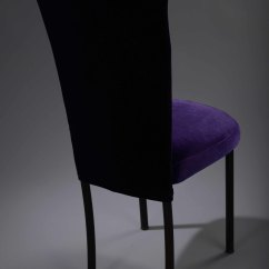 Chair Cover Hire Preston Replacement Director Covers Nz Purple Velvet Chameleon  Nüage Designs